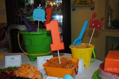 Under the sea themed party 1st Birthday ocean