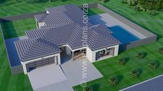 4 Bedroom House Plan - 4 Bedroom House Plan – My Building P. - 4 Bedroom House Plan – 4 Bedroom House Plan – My Building Plans South Africa - Split Level House Plans, Square House Plans, Free House Plans, Tuscan House Plans, Metal House Plans, 4 Bedroom House Plans, Family House Plans, My Building, Building Plans