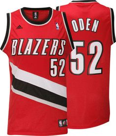 ... Portland Trail Blazers Greg Oden 52 Red Authentic Jersey Sale ... 58a742c87