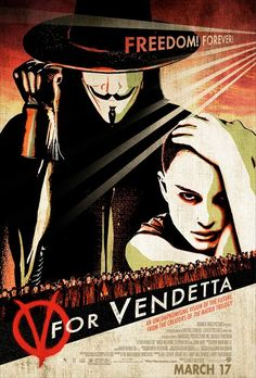 V For Vendetta by N/A #movie #poster