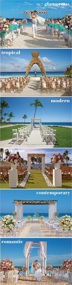 Casamento - estilos de decoração para cerimônia