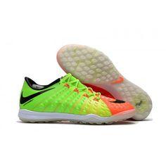 newest 4fb75 95817 Nike Hypervenom Phantom III TF fodboldstovler Gron Orange Sort