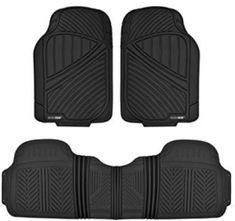 Car Auto Floor Mats for Toyota Camry 4pc Heavy Duty Semi Custom Fit Blue Carpet