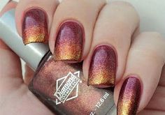 Pure Butterfly: Autumn Nails That Anyone Can Do