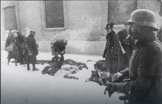 Jedna od retkih originalnih fotografija iz zloglasne Novosadske racije