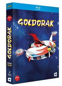 Goldorak - Box 1 - Épisodes 1 à 12  Non censuré  - BLU-RAY