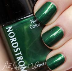 Eight Emerald Green Nail Polishes, Perfect for St. Patrick's Day