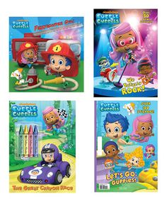 Love this Bubble Guppies Activity Adventure Paperback Set by Random House on #zulily! #zulilyfinds