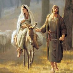 Lucas 2:4-5 Y José subió de Galilea, de la ciudad de Nazaret, a Judea, a la ciudad de David, que se llama Belén, por cuanto era de la casa y familia de David; para ser empadronado con María su mujer, desposada con él, la cual estaba encinta. ♔