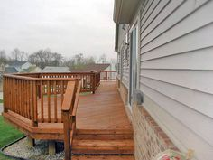 Testimonial from a deck done to weather the elements, coated in The Surface Master, by National Coatings Inc. Outdoor Wood Stain, Outdoor Wood Furniture, Outdoor Decor, Easy Deck, Cool Deck, Best Deck Stain, Deck Stain Colors, Semi Transparent Stain, Cedar Deck