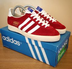 the latest a6da8 ecafc Vintage Gazelles from the early 70 s were made in West Germany Adidas Men,  Sneakers Adidas