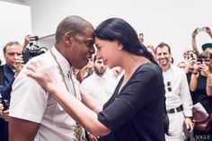 Hov continues his art world machinations with the promise of a donation.The worlds of Jay Z and Marina Abramovic made an unlikely collision in July, when the performance artist made an appearance at Jay's six-hour performance of 'Picasso Baby', a. Jay Z, Illuminati, Picasso, Rapper, Marina Abramovic, Star Wars, Portraits, Hollywood, High School Art