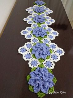 Crochet Tablecloth, Crochet Doilies, Crochet Flowers, Crochet Home, Crochet Crafts, Knit Crochet, Crochet Blanket Patterns, Knitting Patterns, Birthday Wishes For Son