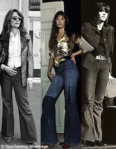 70's jeans.