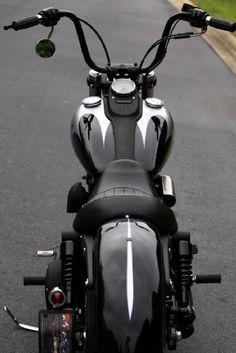 Custom Harley Davidson. #harleydavidsonchoppersbikes
