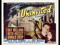 The Uninvited theatre poster 1940s Movies, Vintage Movies, Horror Movie Posters, Cinema Posters, Film Posters, Haunted Movie, Helen Hayes, Best Ghost Stories, Film Noir