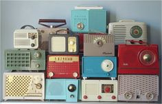 Transistor Radios ~ Google Image Result for http://blog.psprint.com/wp-content/uploads/2011/08/MarkAmsterdamonFlickrTheCollectionCollective.png