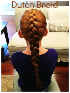 How to Make a Dutch Braid - {tutorial} - Haare - Pretty Hairstyles, Braided Hairstyles, Stylish Hairstyles, Hairdos, Different Braids, Cool Braids, Beautiful Braids, Hair Videos, Hair Hacks