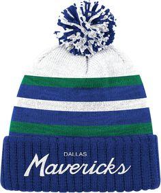 964f047dbc2 Mitchell   Ness Men s Dallas Mavericks Cuffed Knit Hat. Dallas MavericksKnitted  HatsWinter ...
