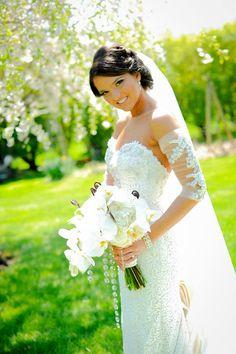 wedding day! priscilla of boston