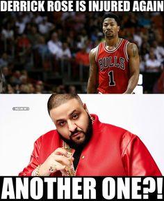 RT @NBAMemes: Derrick Rose out again! - http://nbafunnymeme.com/nba-funny-memes/rt-nbamemes-derrick-rose-out-again