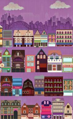 Imprimolandia: Ciudades
