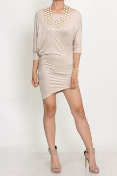 Draped Dress (  Colors)