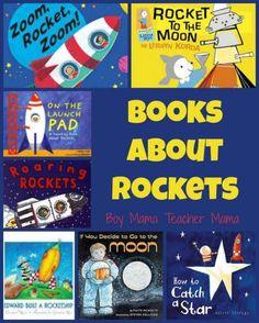 Rocket Fueled Books & Rocket craft