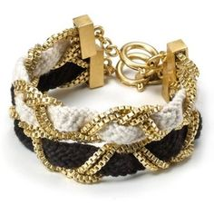 Black, white and gold!