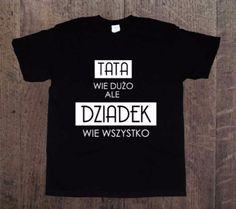 Dziadek+wie+wszystko,+Męska+koszulka+z+nadrukiem,+w+DDshirt+na+DaWanda.com