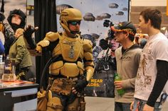 """Lawmakers today moved to tighten congressional control over U. Special Operations Command's new """"Iron Man"""" battle suit, expressing concerns that program officials are already mishandling. Iron Men, Iron Man Suit, Iron Man Armor, Futuristic Technology, Wearable Technology, Technology Gadgets, Special Ops, Special Forces, Us Military"""