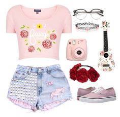 """""""PLEASE READ DESCRIPTION// Fairy Queen"""" by cherry-demon on Polyvore featuring Fujifilm, Vans, claire's and Accessorize"""