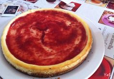 Pastel de queso casero