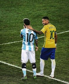 Lionel Messi & Neymar #messi #leomessi #argentina #vamosargentina #neymar #neymarjr #brazil #worldcup #worldcup2018 #wc2018 #wcrussia #russia2018 #worldcuprussia #worldcuprussia2018 #fifarussia #fifa2018 #fifa2019 #fifaworldcup2018 #чм2018 #fcb #laliga #spain #psg #soccer #Soccergame #Soccerplayer #Soccerteam #football #footballplayer #footballseason #Footballsunday #footballgame #Footballmatch #footy #match #goals #team #ball #pass #fans #play #playing #player #sports #fifa #rof355 Messi And Neymar, Messi And Ronaldo, Messi 10, Football Is Life, Football Match, Funny Sports Memes, Sports Humor, Lionel Messi, America's Cup