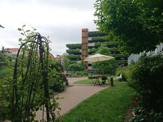 #thisisTheHague - a beautiful garden smack in the middle of the city center. Love  it!
