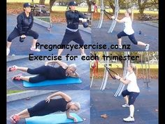 Great Pregnancy Exercises to do during each Trimester