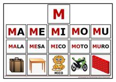 Atividades de Sílabas e palavras para imprimir Portuguese Lessons, Spanish Class, Special Needs, First Grade, Literacy, Homeschool, Language, Teacher, Activities