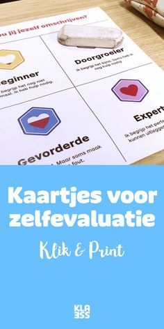 Met deze kaartjes schatten je leerlingen zichzelf in. Zo weet jij meteen waar ze staan. Education Logo, Primary Education, Primary School, Education Quotes, Leadership Quotes, Co Teaching, Creative Teaching, School Quiz, High School Counseling