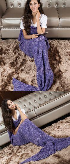 knitted mermaid blanket,mermaid tail blanket,mermaid blankets,hand made mermaid blanket
