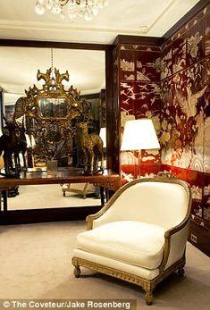 Coco Chanel's Paris apartment: Healing crystals, hidden doors and no bedrooms | Mail Online