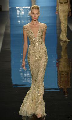 Reem Acra Spring 2013 | Fashion Show Photos | NYFW- FocusOnStyle.com