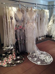 Claire Pettibone 'Raven' wedding dress available at Nicole Bridal & Formal Shoppe *TOMORROW* Mar. 28-30 | Book An Appointment: 215-886-2333