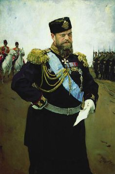 Portrait of Emperor Alexander III, 1900 by Valentin Serov (Russian, 1865 - 1911)