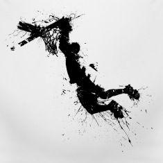 basketballer dunking Camisetas