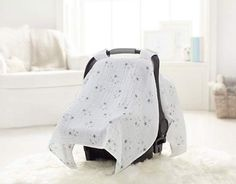 aden + anais car muslin seat canopy | baby shower gift guide