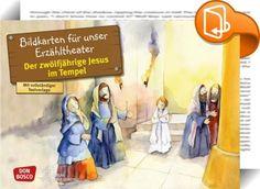 Der zwölfjährige Jesus im Tempel    ::  Mit dieser 12-teiligen DIN-A3-Bildfolge…