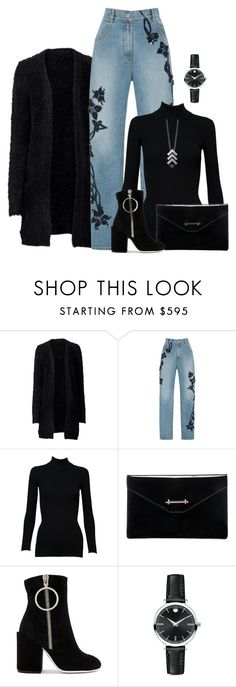 """""""Untitled #1652"""" by ebramos on Polyvore featuring Jonathan Simkhai, Alaïa, M2Malletier, Off-White, Movado and Helen Rankin"""