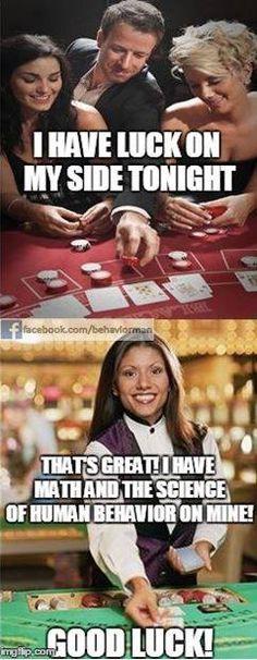 #BehaviorAnalysis at the Casino!
