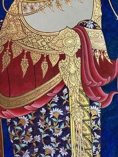 Mehndi, Henna, Thai Art, Thai Thai, Thai Pattern, Thai Design, Thailand Art, Myanmar Women, Thai Fashion