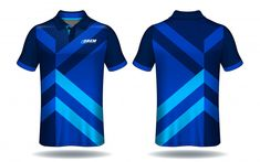 T-shirt polo design, sport jersey template. Polo Design, Tennis Wear, Vector Freepik, Cycling Outfit, Sports Logo, Sport Wear, Polo Shirt, T Shirt, Football Shirts